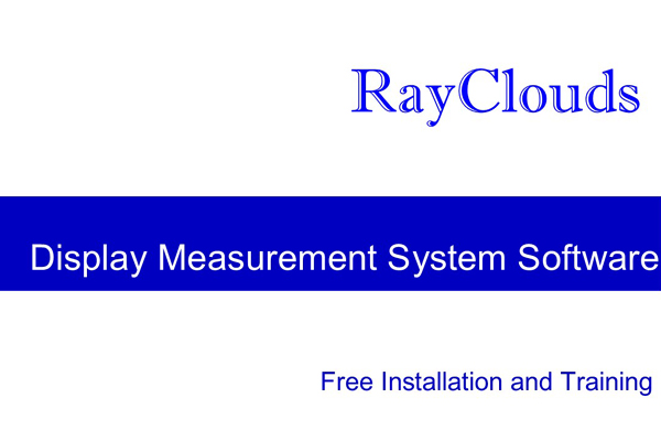 Optical Measurement System Software